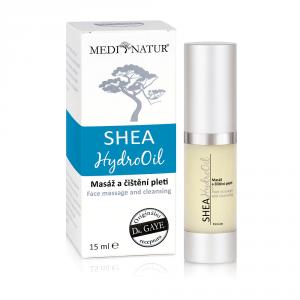 Shea HydroOil 15 ml - Hydrofilní olej na masáž a čištění pleti