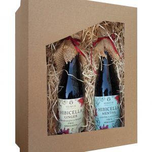 Dárkový balíček - Homemade ibiškové nápoje