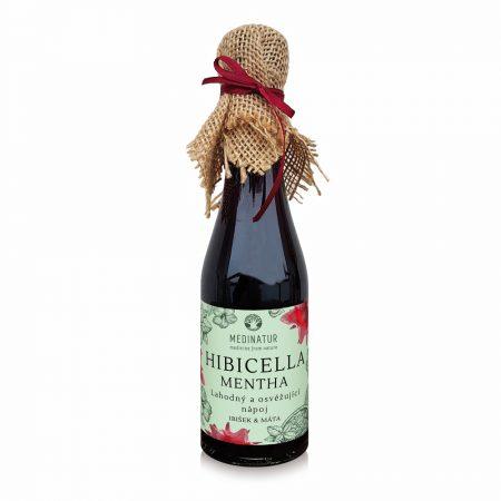 Hibicella Mentha - Povzbuzující a hřejivý ibiškový nápoj s mátou