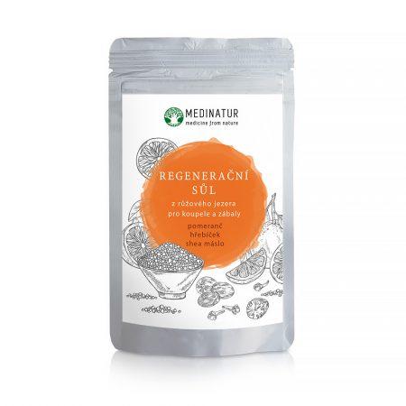 Regenerační sůl z růžového jezera - Pomerančová na bolest kloubů a svalů