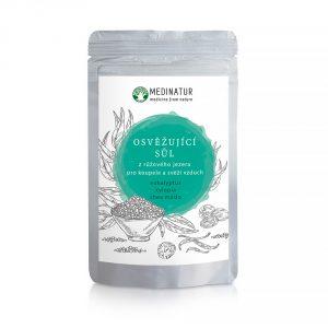 Osvěžující sůl z růžového jezera - Eukalyptus proti únavě a pocitu bez energie a pro svěží vzduch