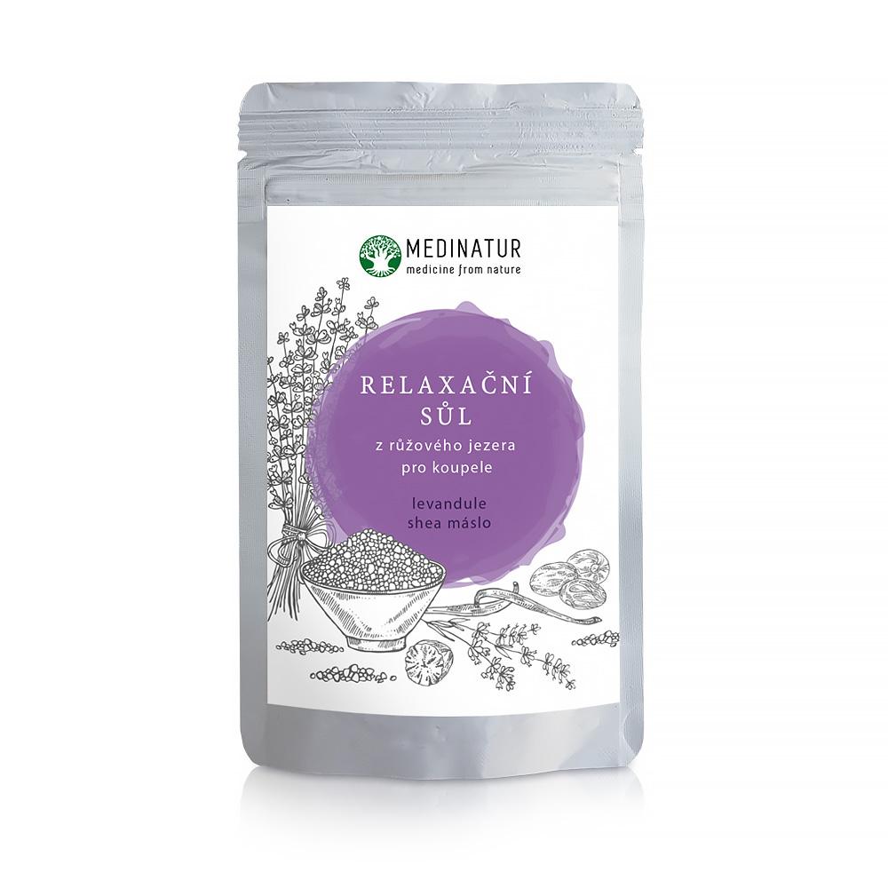 Relaxační sůl z růžového jezera – Levandulová k odpočinku a relaxaci